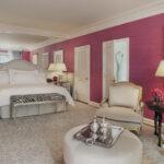 The Peninsula Beverly Hills Hotel Grand Deluxe Pink Suite Bedroom